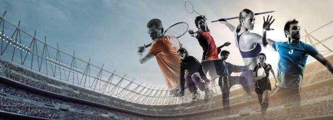 Ilustrační obrázek sportovců.