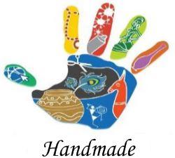 Logo handmade - kreativní ruka.