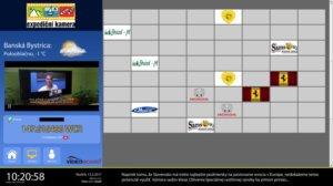 Ukázka, jak vypadá pexeso hra v iBoarde.