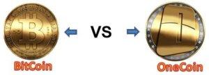 Zásadní rozdíly mezi Bitcoinem a pyramidovou kryptoměnou Onecoin.