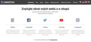 Linketica.com je portál, na kterém si přijdou na své blogeři, influenceři i majitelé e-shopů.