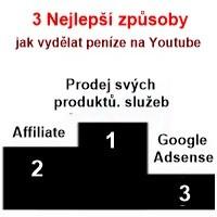 3 nejlepší způsoby, které dokáží vydělat na YouTube nejvíce peněz.