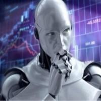 Ilustrační obrázek robota, který na Forexu obchoduje za vás.
