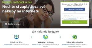 Jak funguje cashbackový portál Refundo.cz? Peníze z nákupu zpět.
