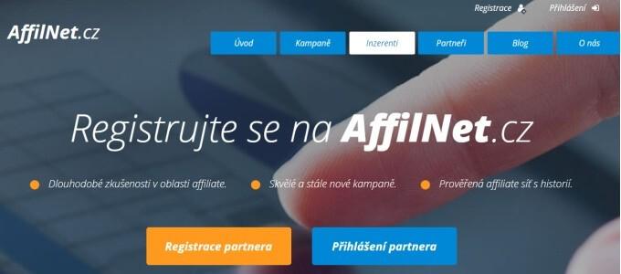 Partnerská síť Affilnet patří také mezi to nejlepší, co nabízí česko-slovenský trh.