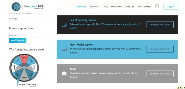"""Kategorie """"Surveys"""" sestávající ze dvou podsekcí - best opportunity surveys a most popular."""