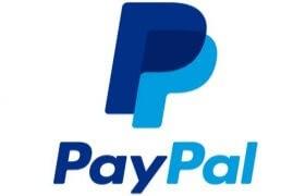 Logo elektronické peněženky Paypal.