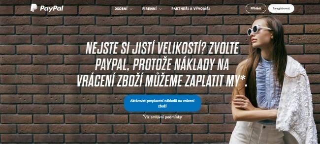 Jak se registrovat a přihlásit na Paypal peněženku.