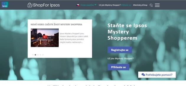 Jak vydělat peníze prostřednictvím stránky IshopFor Ipsos.