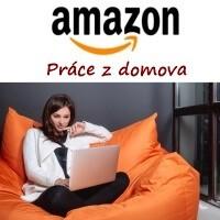 Žena, která pracuje z domu pro společnost Amazon.