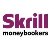 Logo elektronické peněženky Skrill.