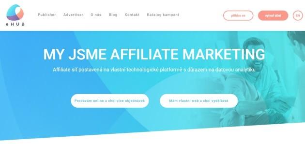 Affiliate síť Ehub.cz je jednou z nejstarších sítí na trhu.