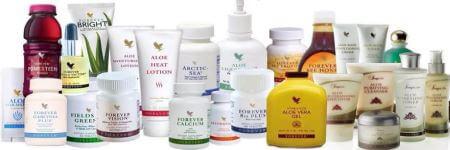 Firma Forever Living nabízí množství kvalitních produktů z Aloe vera.