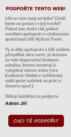 Navštívit web GfK MyScan Panel