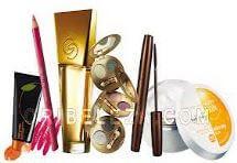Produkty od společnosti Oriflame, kosmetika.