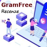 Ilustrační obrázek, na kterém je nápis Gramfree a recenze.