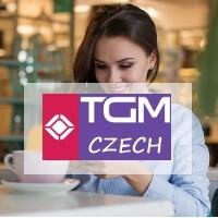 Logo TGM Czech.