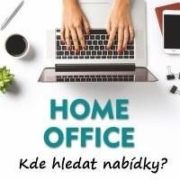 Kde hledat nabídky práce a brigády na home office.