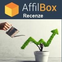 Logo Affilboxu s nápisem recenze.