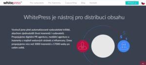 Whitepress je nástroj pro distribuci obsahu.