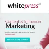 Publikujte PR články a vydělávejte na portálu Whitepress.