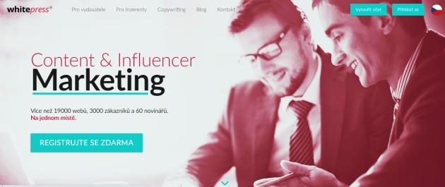 Whitepress.cz je nejlepší PPP reklamní systém v Česku.