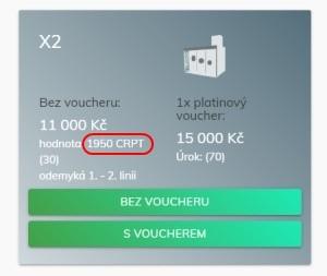 Kolik kryptonitpointů získáte zakoupením balíčku X2?