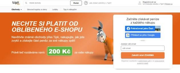 Nechte si platit od oblíbeného e-shopu.