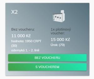 Na co všechno máte nárok při zakoupení balíčku X2?
