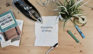 Strategie na online marketing.