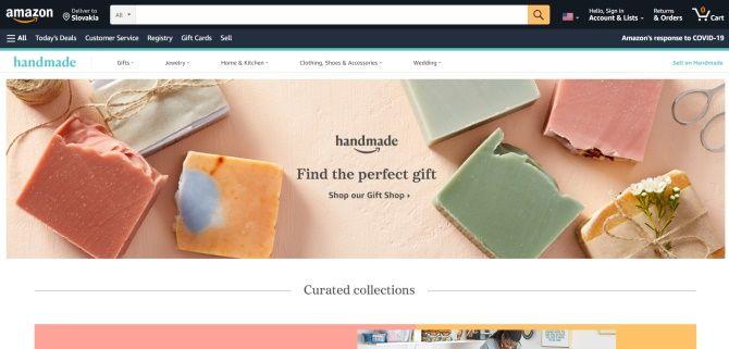 Amazon Handmade je další skvělá příležitost pro handmade prodejce.