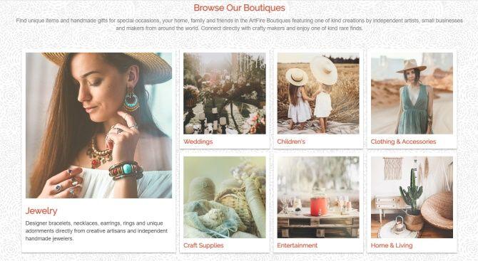 I na stránce Artfire.com můžete prodávat své ručně vytvořené kreace.