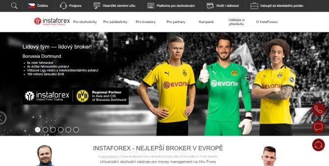 Broker Instaforex patří mezi platformy nabízející sociální investování.